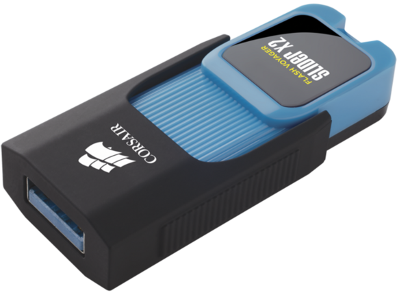 Флаш памет Corsair Flash Voyager® Slider X2 USB 3.0 32GB USB Drive - 2