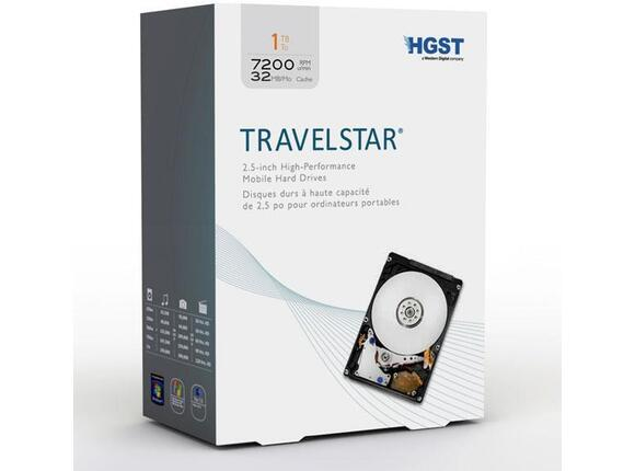 "Твърд диск Hitachi Travelstar 2.5"" 9.5mm 1TB 7200rpm SATA"