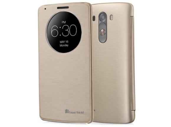 Калъф LG Quick Circle Case G3s Gold - 3