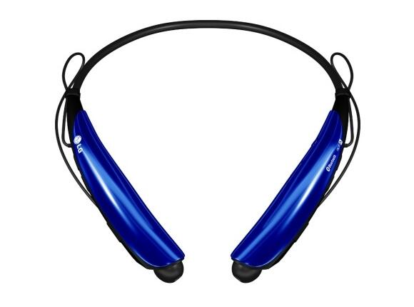 Слушалки LG Bluetooth Stereo Headset Tone Pro Blue