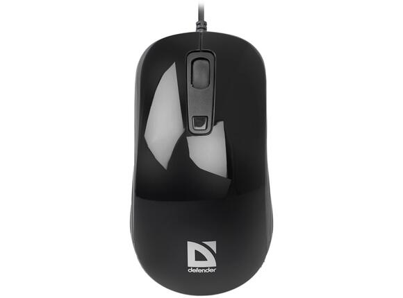 Мишка Defender Wired optical mouse Defender Datum MB-060 black