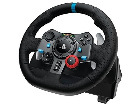 Геймърски аксесоари Logitech G29 Driving Force Racing Wheel for PlayStation - 3