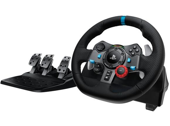 Геймърски аксесоари Logitech G29 Driving Force Racing Wheel for PlayStation
