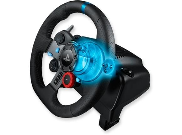 Геймърски аксесоари Logitech G29 Driving Force Racing Wheel for PlayStation - 4