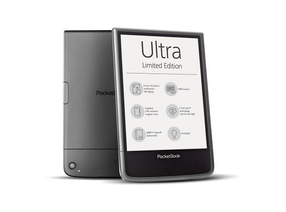 "Електронна книга Pocketbook Ultra 6 ""PB650 Limited Edition Mist grey"
