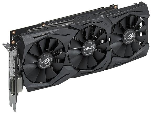 Видеокарта ASUS STRIX GeForce GTX1060-6G-GAMING - 2