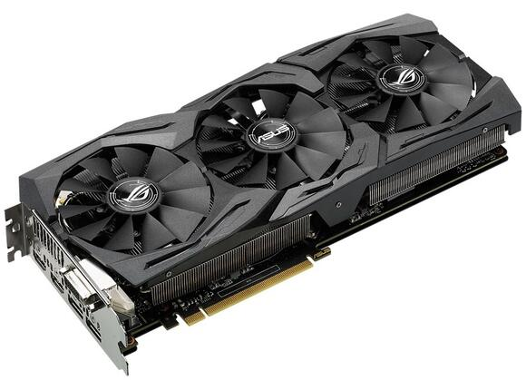 Видеокарта ASUS STRIX GeForce GTX1060-6G-GAMING - 3