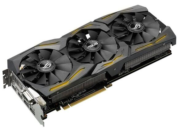 Видеокарта ASUS STRIX GeForce GTX1060-6G-GAMING - 6