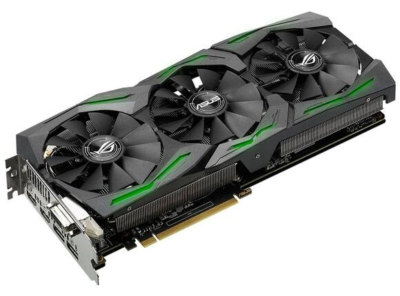 Видеокарта ASUS STRIX GeForce GTX1060-6G-GAMING - 7