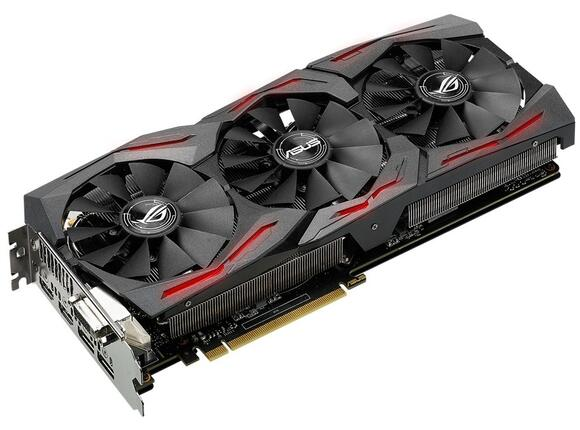 Видеокарта ASUS STRIX GeForce GTX1060-6G-GAMING - 8