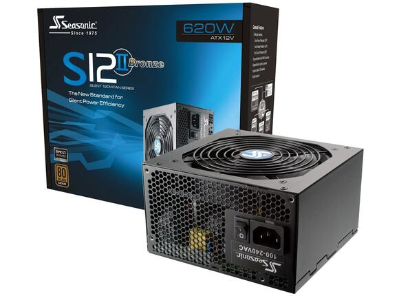 Захранване SEASONIC SS-620GB/620W/APF (S12II-620Bronze)