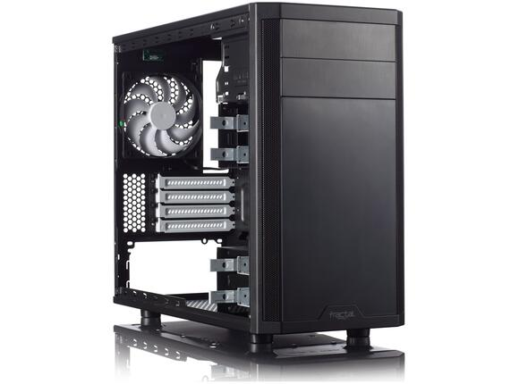 Кутия Fractal Design Core 1500 Micro ATX Black - 3