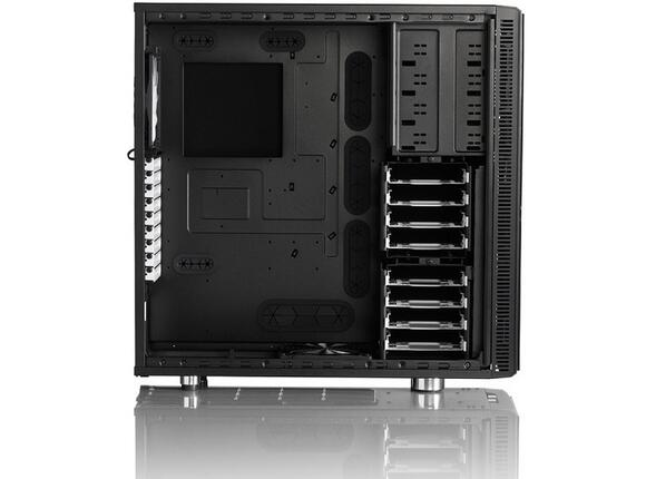 Кутия Fractal Design Define XL R2 Black Pearl - 4
