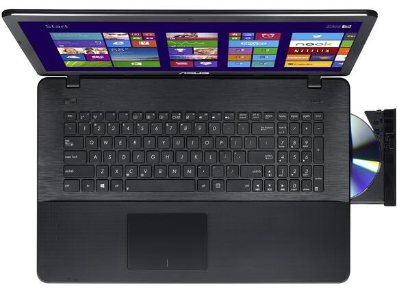 Лаптоп ASUS X751LD-TY062D - 3