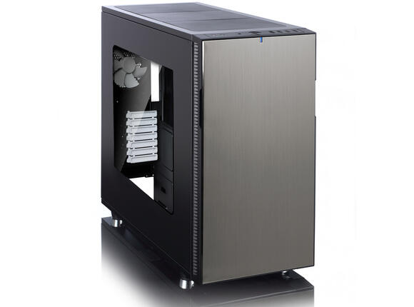 Кутия Fractal Design Define R5 Titanium Window - 2