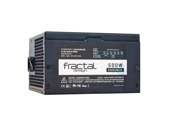 Захранване Fractal Design PSU 500W ESSENSE BLACK