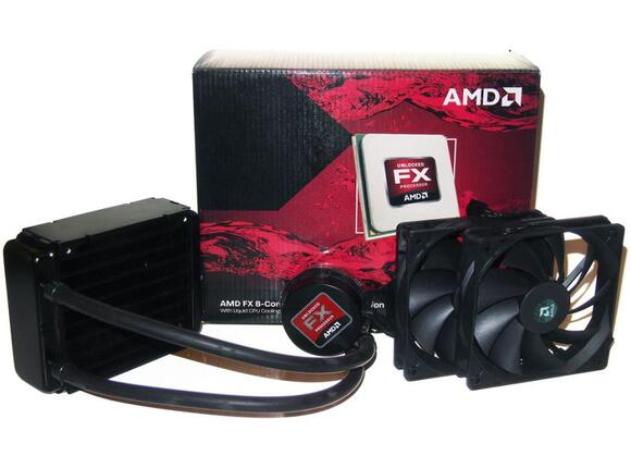 Процесор AMD FX 8-Core Processor + Water Cool Solution