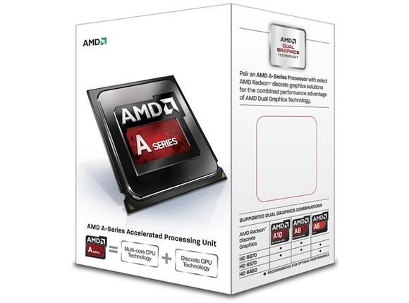 Процесор AMD Quad-Core A10-Series APU for Desktops (4 M Cache, up to 3.5 GHz)