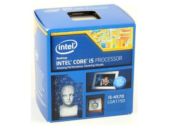 Процесор Intel Core i5-4570 (6M Cache, up to 3.60 GHz)