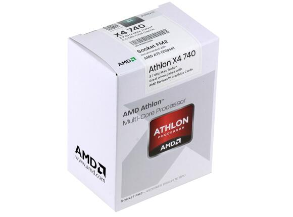 Процесор AMD Athlon II X4 740 (4MB, 3.2 GHz)