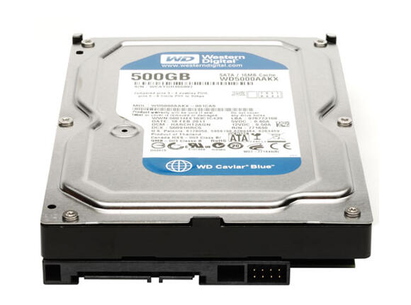 Твърд диск Western Digital 500GB, REFURB, SATA III