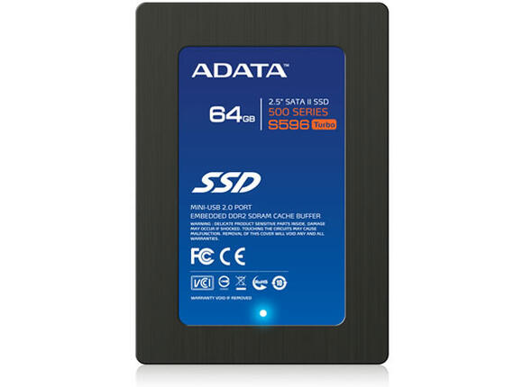 SSD Диск A-DATA SSD 64GB, S596, TURBO, SATA II