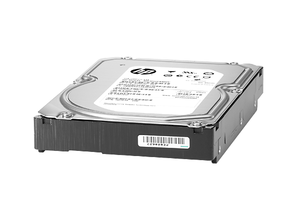 Твърд диск HPE 2TB 6G SATA 7.2K rpm LFF (3.5in) Non-hot Plug Entry 512e 1yr Warranty Hard Drive