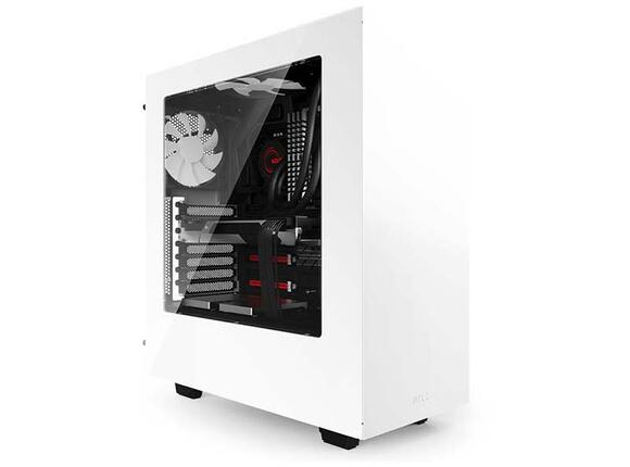 Кутия NZXT S340 Mid Tower White