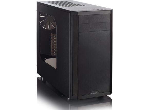 Кутия Кутия FractalDesign CORE 3500 ATX BLACK W/Window