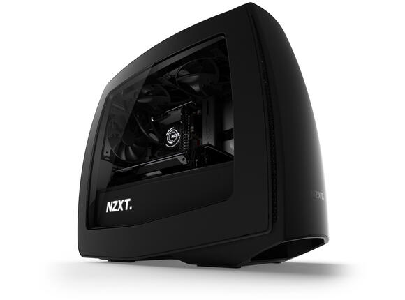 Кутия NZXT Manta Matte Black Windows