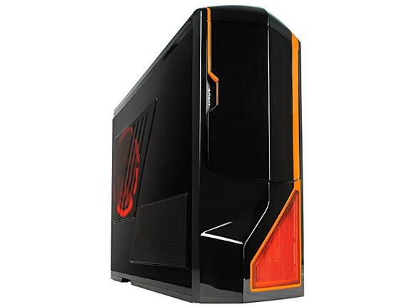Кутия NZXT Phantom Black + Orange