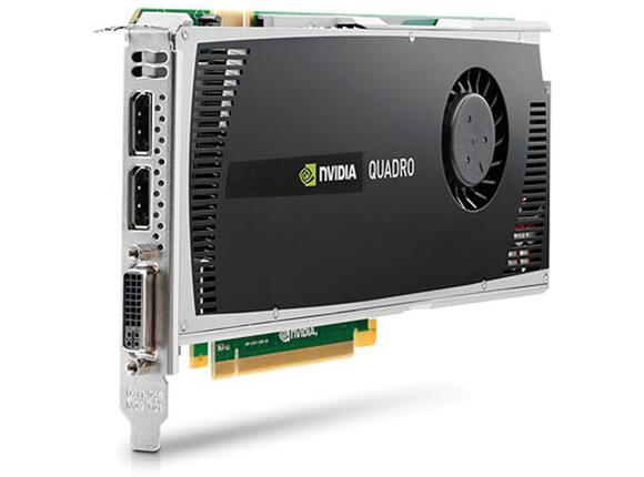 Видеокарта HP NVIDIA Quadro 4000 2.0GB Graphics Card