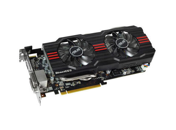Видеокарта Видео картa ASUS HD7870-DC2-2GD5-V2, 2GB, GDDR5