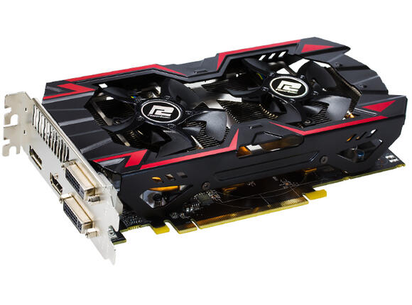 Видеокарта PowerColor TurboDuo R9 285, 2GB, GDDR5 OC