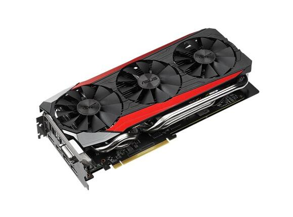 Видеокарта ASUS STRIX-R9390-DC3OC-8GD5-GAMING