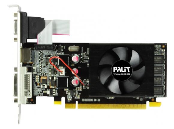 Видеокарта PALIT GeForce 210, 512MB DDR3