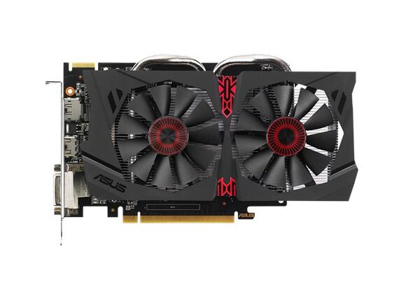 Видеокарта ASUS STRIX-R7370-DC2-4GD5-GAMING