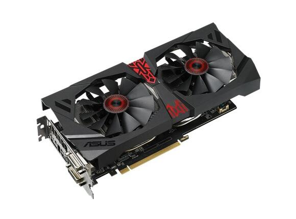 Видеокарта ASUS STRIX-R9380-DC2OC-4GD5-GAMING