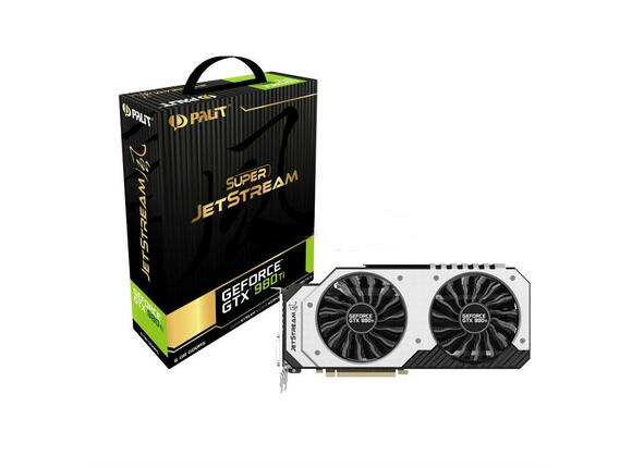 Видеокарта PALIT GeForce GTX 980 Ti JetStream, 6GB, GDDR5