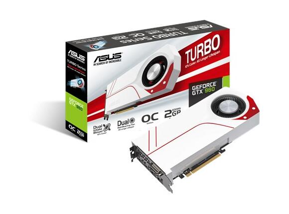 Видеокарта ASUS TURBO-GTX960-OC-2GD5