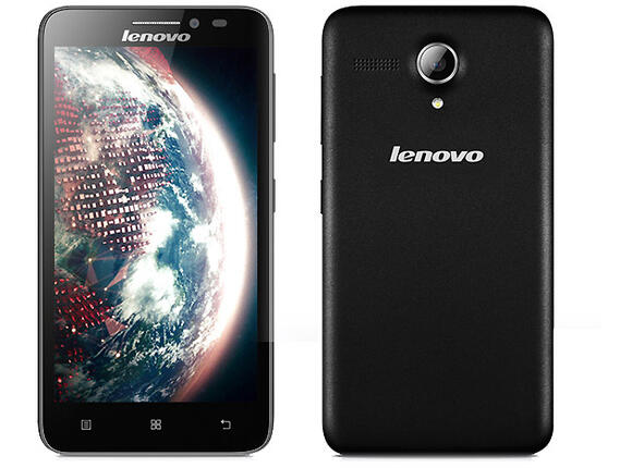 "Смартфон Мобилен телефон Lenovo A606, MT6582M, 5.0"", 1GB, 8GB, Android 4.4, Black"