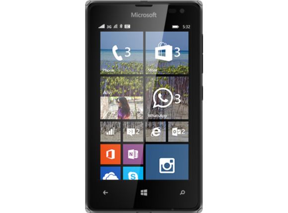 Смартфон Мобилен телефон Microsoft Lumia 532, Black