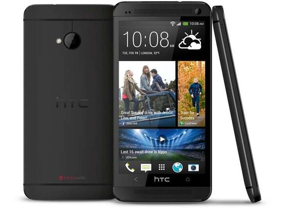 "Смартфон Мобилен телефон HTC ONE 801N, 4.7"", APQ8064T, 2 GB, 32 GB, STEALTH Black"