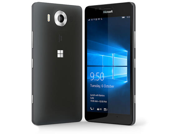 Смартфон Мобилен телефон Microsoft Lumia 950 Black