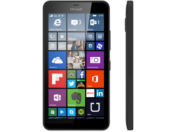 Смартфон Microsoft Lumia 640 XL LTE Black