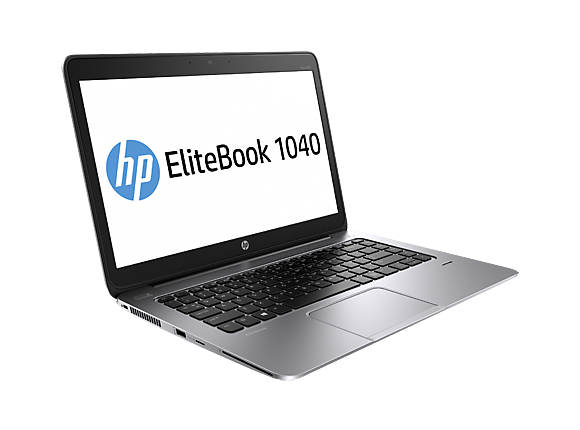"Лаптоп HP EliteBook Folio 1040 G1 Notebook PC,  I7-4600U, 14.0"", 8GB, 256GB, Win7"
