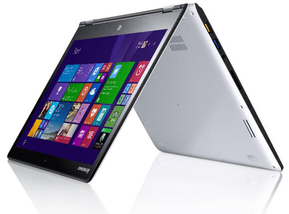 "Лаптоп Lenovo Yoga 3 /80JH0068BM / White, i5-5200U, 14"", 8GB, 256GB, Win 8.1"