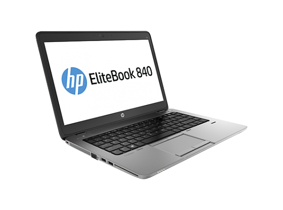 "Лаптоп HP EliteBook 840 G2, i5-5300U, 14"", 4GB, 500GB, Win 7 Pro 64"