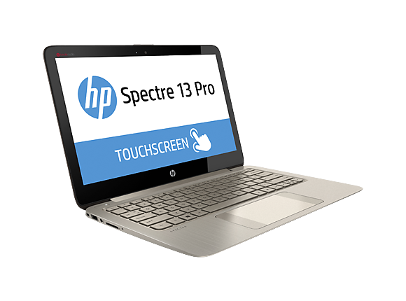 "Лаптоп HP Spectre 13 Pro Notebook PC,  i5-4200U, 13.3"", 4GB, 256GB, Win8.1"