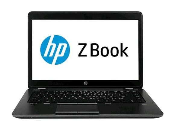 "Лаптоп HP ZBook 14,  i7-4600U, 14"", 16GB, 512GB, Win7"